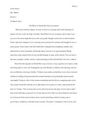 The Effect of WWI on Literature.pdf