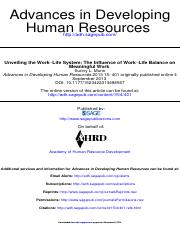 """unveiling the work-life system the influence of work-life balance on meaningful work"".pdf"