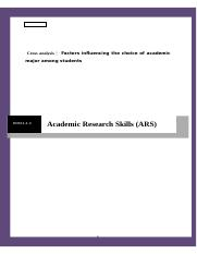 Work # 1 Academic Research Skills, Individual Assignment (1200 words) Jan 24, 2017.docx