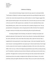 The Evolution of Bullying Essay.docx