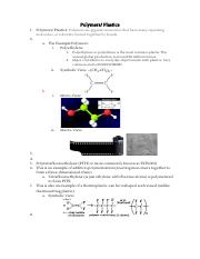 AP Chemistry - Polymers and Plastics.pdf