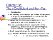 ch22thet-coefficientandthet-test