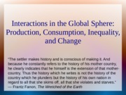 Interactions in the Global Sphere slides