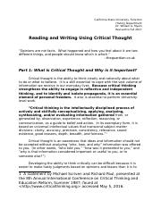 Critical Reading and Writing rev Fall 2017.docx
