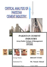 14556512-Critical-Analysis-of-Pakistan-Cement-Industry