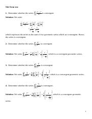BC CALCULUS - SEQUENCES AND SERIES_DRILL PROBLEMS.doc