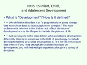001 -  Infant Child and Adolescent Development.ppt11