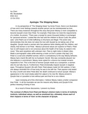 Apologia - The Shipping News