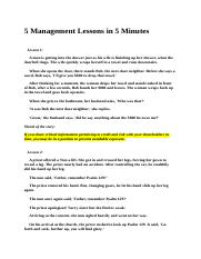 5 Management Lessons in 5 Minutes.docx