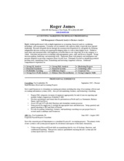 business-resume-sample