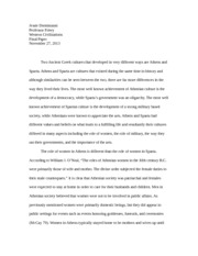 Western Civ Research paper