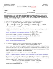 Econ+140+final+spring+2011+with+answers+--+corrected