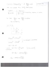 Class Note Clausius Inequality
