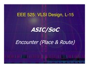 Lecture-15 SoC_encounter v2 slides