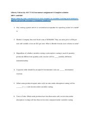 Liberty University ACCT 212 learnsmart assignment 6 Complete solution.docx