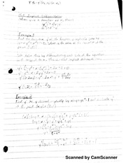 MATH 206  Implicit Differentiation Notes