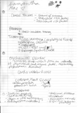 Psych 290 Class Notes 1