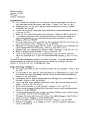 major assignment guide
