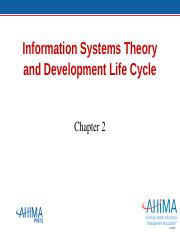 HIT 230_Ch02_Information Systems Theory and Development Life Cycle