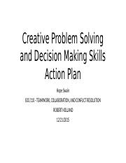 Swain_Hope_Creative Problem Solving and Decision Making Skills Action