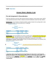 module one lab questions View lab report - module one lab questions from flvs parenting at alonzo and tracy mourning senior high biscayne bay module one: lab questions your first lab link.
