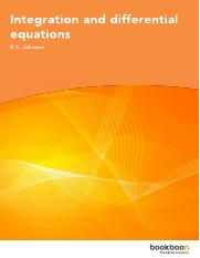 Integration and differential equations.pdf
