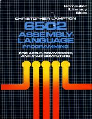 053104923X {4F66F5D8} 6502 Assembly-Language Programming for Apple, Commodore, and Atari Computers [