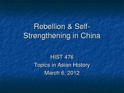 the decline of qing dynasty essay 1700 1901 1644 the rise and fall of the qing dynasty manchu seize of ming dynasty the weakness of the declining ming dynasty, gave the manchus an oppurtunity to seize.