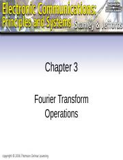 L03-1- Fourier Transform Operations