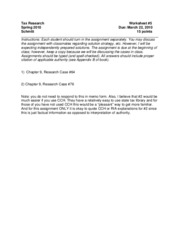 Worksheet_Five