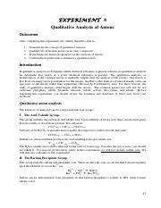CHEM_103_Exp_04_Qualitative_Analysis_Anions_Part_I NEW