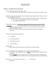 Exam 3 Study Guide - Psychology