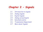 Chapter 2 - Signals