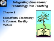 Integrating Educational Technology into Teaching1