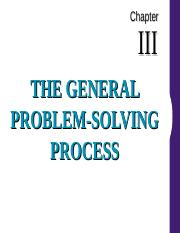 Chapter III General Problem Solving Process.ppt