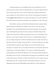 personal essay on no place like home revised no place like home  3 pages hamlet essay