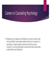 Careers in Counseling Pschology.pptx