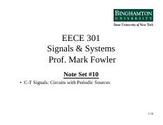 EECE 301 NS_10 Circuits with Periodic Sources