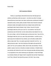 psychology essay psychology essay sleep log reflection a sleep 5 pages maslow essay