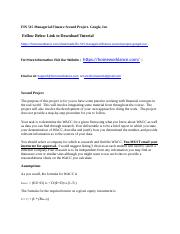 FIN 515 Managerial Finance Second Project- Google, Inc.docx