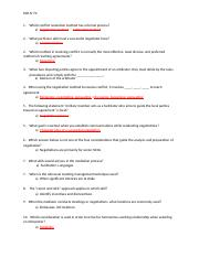 EXAM Module 3 - SSD IV MOD III EXAM 1 WHICH CONFLICT