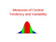 Central Tendency and Variability 2-15