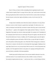 rawls principles of justice essay