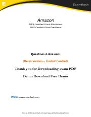 AWS-Certified-Cloud-Practitioner Latest Dumps - Real Exam