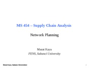 MS454-06-Network Planning