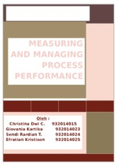 CHAPTER 7-MEASURING PROCESS