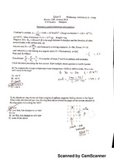 Quiz 5 Physics 1201