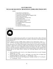 Nuclear Magnetic Resonance(NMR).doc