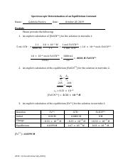 Chem 2090 lab 6 Post lab.pdf
