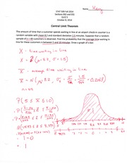 Statistics for Engineers Quiz 5 Answer Key